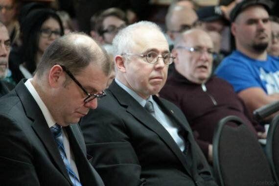 Le comédien Denis Trudel, candidat pour le Bloc québécois, n'en a que pour Pierre Karl Péladeau