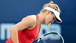 Eugenie Bouchard éliminée au premier tour
