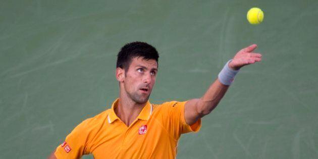 Sous un ciel ensoleillé, Novak Djokovic passe au 3e tour à la Coupe Rogers