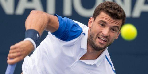 Coupe Rogers: Après la pluie, le Bulgare Grigor Dimitrov fait tomber l'Ukrainien Alexandr
