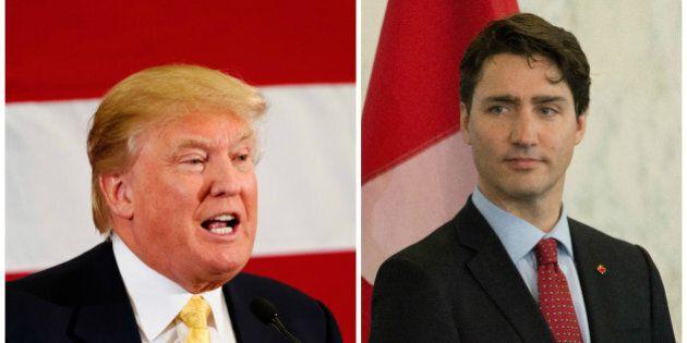 Justin Trudeau demeure peu loquace sur le phénomène Donald