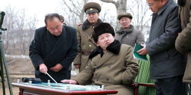Tir de missile balistique nord-coréen dans la