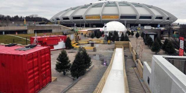 Le Village Mammouth s'installe au Parc olympique de Montréal