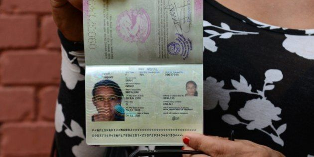 Nepalese transgender and the first recipient of a Nepalese transgender passport, Monica Shahi from Kailali...