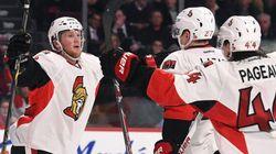 De 0-2 à 5-2, les Sénateurs battent les Canadiens à Montréal