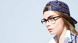 Les photos de la campagne lunettes de Chanel avec Cara Delevingne