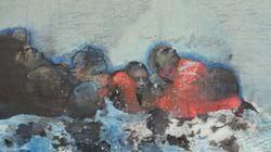 «Mare Monstrum»: les peintures poignantes du périple des migrants par une artiste