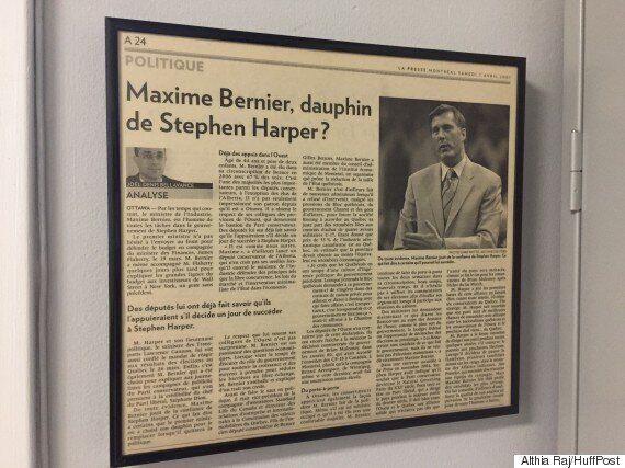 Course à la direction du Parti conservateur du Canada : Maxime Bernier mesure ses appuis