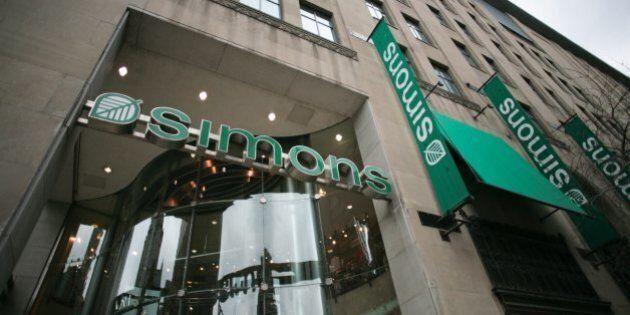 Simons ouvre son premier magasin en
