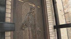 Ouverture de la porte sainte à