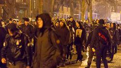 Manif contre la brutalité policière à Montréal