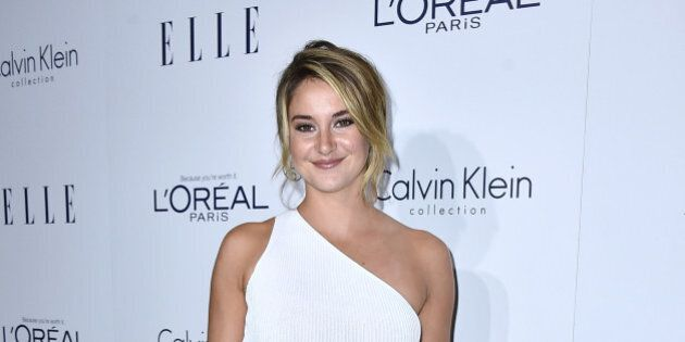 Shailene Woodley attends the 2015 ELLE Women in Hollywood Awards at the Four Seasons Hotel on October 19, 2015 in Los Angeles, California. (Photo by Jordan Strauss/Invision/AP)