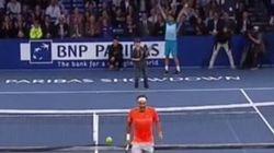 Roger Federer «vaincu» par un garçon de 12 ans