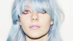 La coloration bleu glace : parfaite pour l'hiver