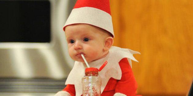 Ce lutin de Noël s'est introduit dans une famille américaine