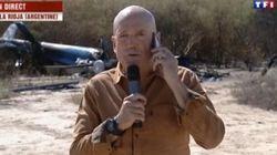 TF1 s'explique après avoir filmé le présentateur de Dropped devant les carcasses des