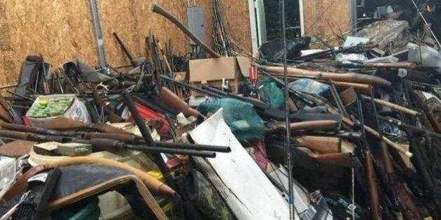 Un Américain stockait jusqu'à 10 000 armes chez