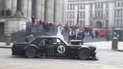 Matt Leblanc et Ken Block prennent les rues de Londres pour un circuit automobile