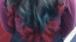 Voici les cheveux de Noël
