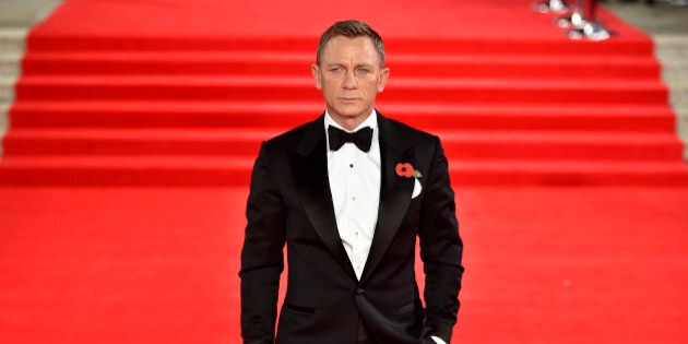 Daniel Craig attending the World Premiere of Spectre, held at the Royal Albert Hall in London. PRESS...