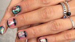 Les ongles à effet verre brisé affolent Instagram