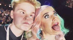 Ce selfie de Katy Perry a bien fait rire les