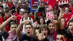 Mobilisation étudiante: bientôt 30 000 étudiants en