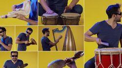 Un homme, une chanson, 90 instruments