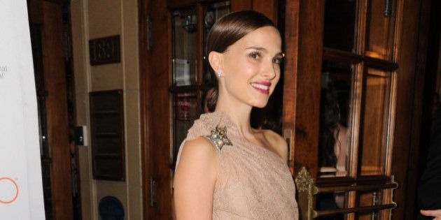 Actress Natalie Portman attends the screening of
