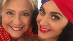 Katy Perry met le paquet pour soutenir Hillary