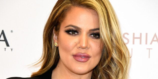 WEST HILLS, CA - APRIL 02:  Khloe Kardashian appears At ULTA Beauty's West Hills Store To Promote Kardashian Beauty Hair Care And Styling Line at ULTA Beauty on April 2, 2015 in West Hills, California.  (Photo by Frazer Harrison/Getty Images)