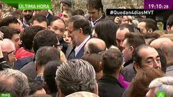 Le premier ministre espagnol frappé en pleine rue