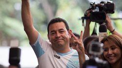 Le Guatemala vote en masse pour un acteur