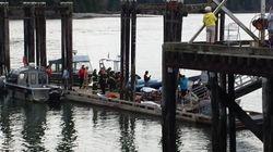 Au moins cinq morts dans un naufrage près de Vancouver