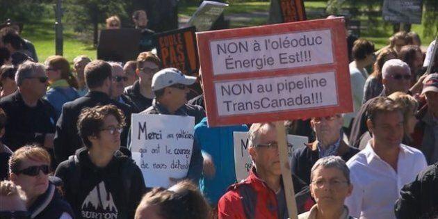 Duceppe déplore l'absence du NPD à une manifestation contre Énergie