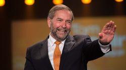 Vote de confiance au NPD : Mulcair ne s'en fait pas