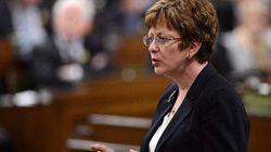 Diane Finley se porte candidate à la direction par intérim du Parti