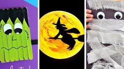 25 idées de bricolages d'Halloween pour les enfants