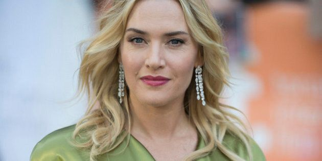 Actress Kate Winslet seen at the premiere of