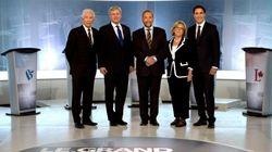 Duceppe a gagné le débat selon les chroniqueurs du Canada anglais... Beaucoup moins au