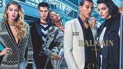 Balmain X H&M rend disponible la première image de sa campagne