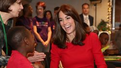 Kate Middleton porte sa tenue favorite pour visiter un centre pour