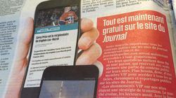 Le Journal de Montréal laisse tomber son mur