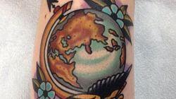 Des tatouages qui donnent envie de voyager