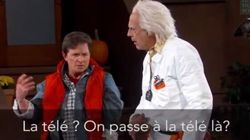 Marty McFly et Doc débarquent chez Jimmy Kimmel