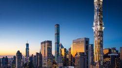 Une tour digne de Gotham City pour