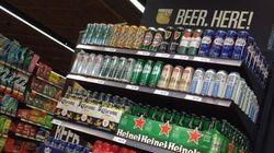 De la bière en vente dans 58 épiceries de l'Ontario à partir