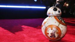 Sur le tapis rouge de « Star Wars », BB-8 a joué les divas