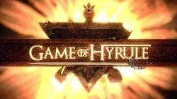 Game of Hyrule: Où Link rencontre le trône de