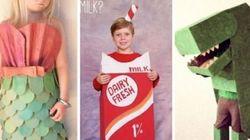 25 costumes d'Halloween fabriqués avec du carton